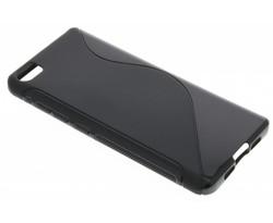 Zwart S-line TPU hoesje Xiaomi Mi 5