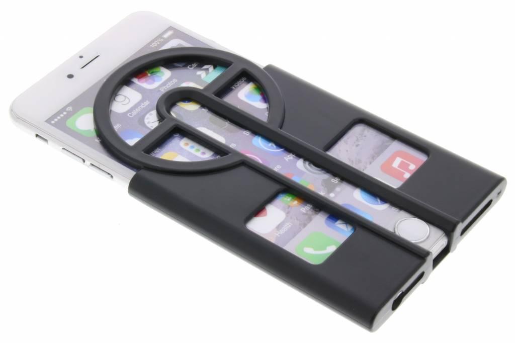 Zwarte Catch them all case voor de iPhone 6 / 6s Plus
