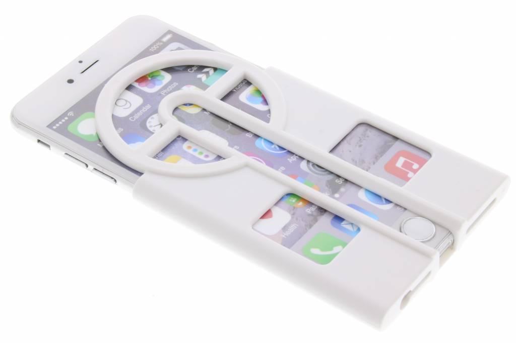 Witte Catch them all case voor de iPhone 6 / 6s Plus