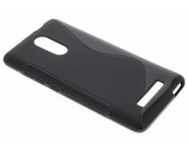 Zwart S-line TPU hoesje Xiaomi Redmi Note 3