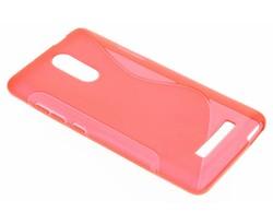 Rood S-line TPU hoesje Xiaomi Redmi Note 3