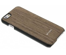 Mozo Wood Back Cover iPhone 6 / 6s - Donkerbruin