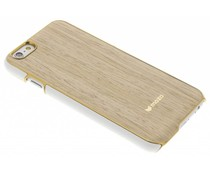 Mozo Wood Back Cover iPhone 6 / 6s - Lichtbruin