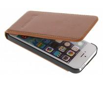 Barchello Smart Flip iPhone 5 / 5s / SE - Rustic Cognac
