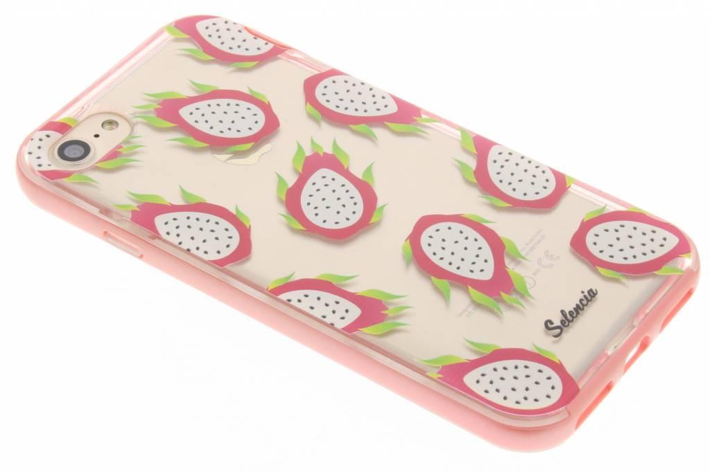 Selencia Foodies Dragon Fruit TPU hoesje voor de iPhone 7