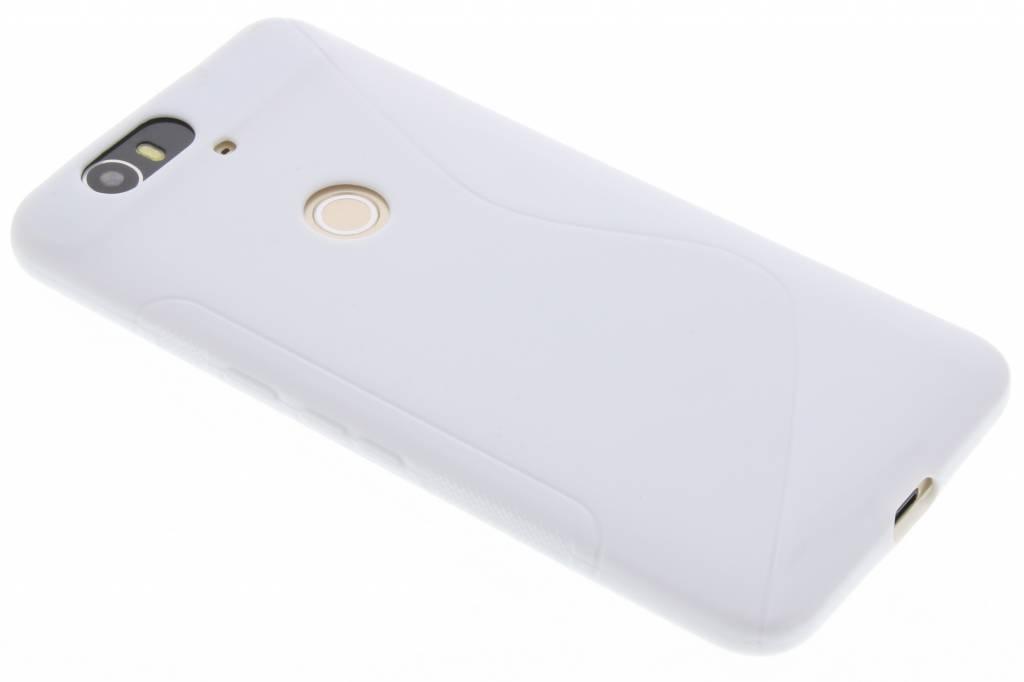 Wit S-line TPU hoesje voor de Huawei Nexus 6P