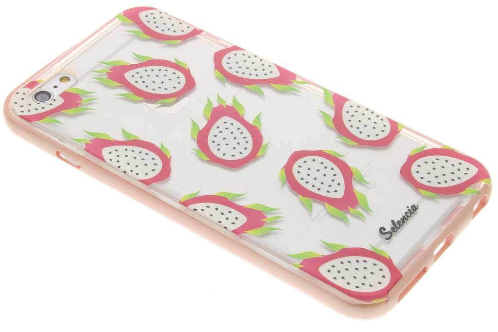 Selencia Foodies Dragon Fruit TPU hoesje voor de iPhone 6(s) Plus