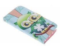 Design TPU booktype hoes iPhone 5 / 5s / SE
