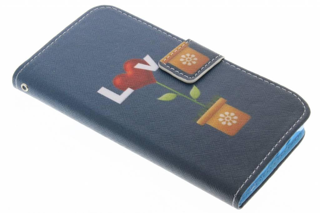 Love design TPU booktype hoes voor de Samsung Galaxy A5