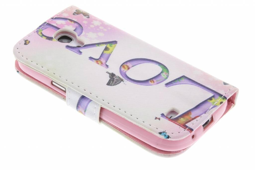 Design Love Case Booktype Tpu Pour La Mini-samsung Galaxy S NrqJzZ