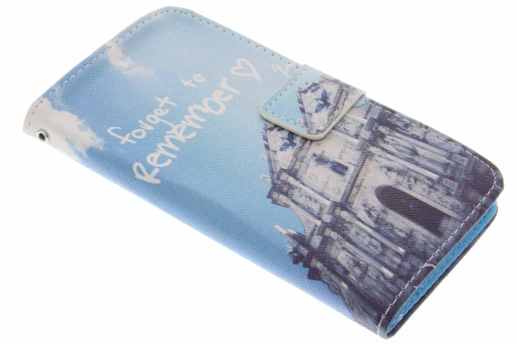 Forget to remember design TPU booktype hoes voor de Samsung Galaxy A5
