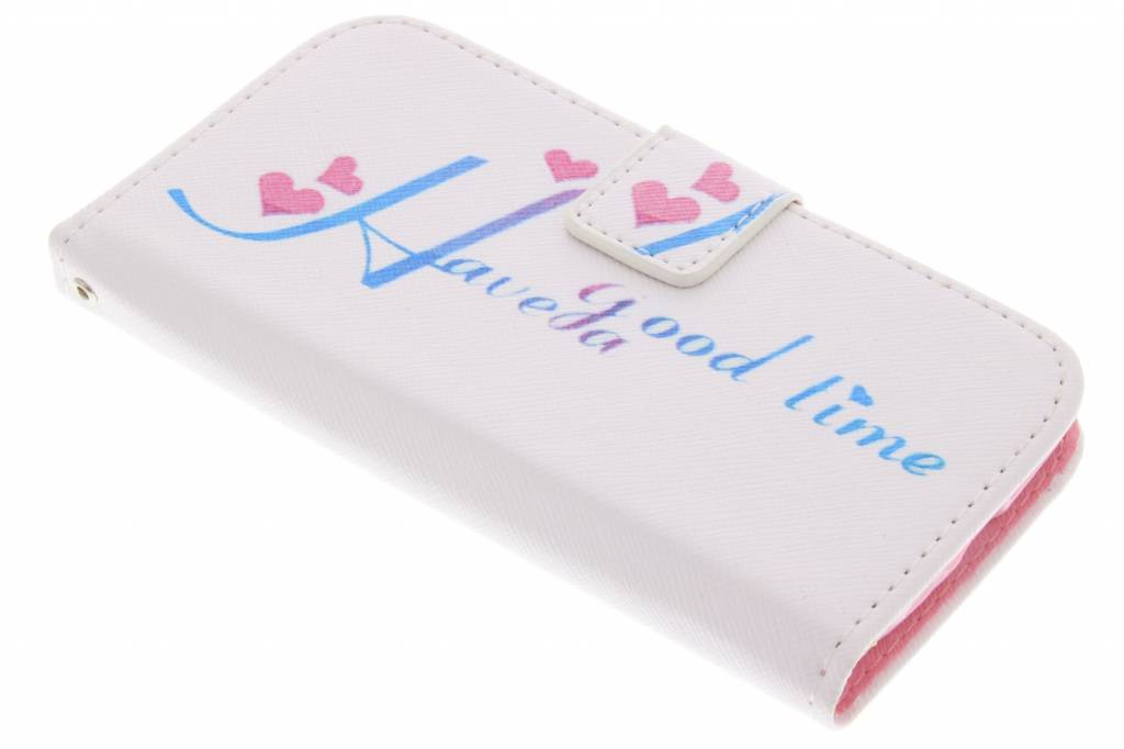 Have a good time design TPU hoes voor de Samsung Galaxy S4