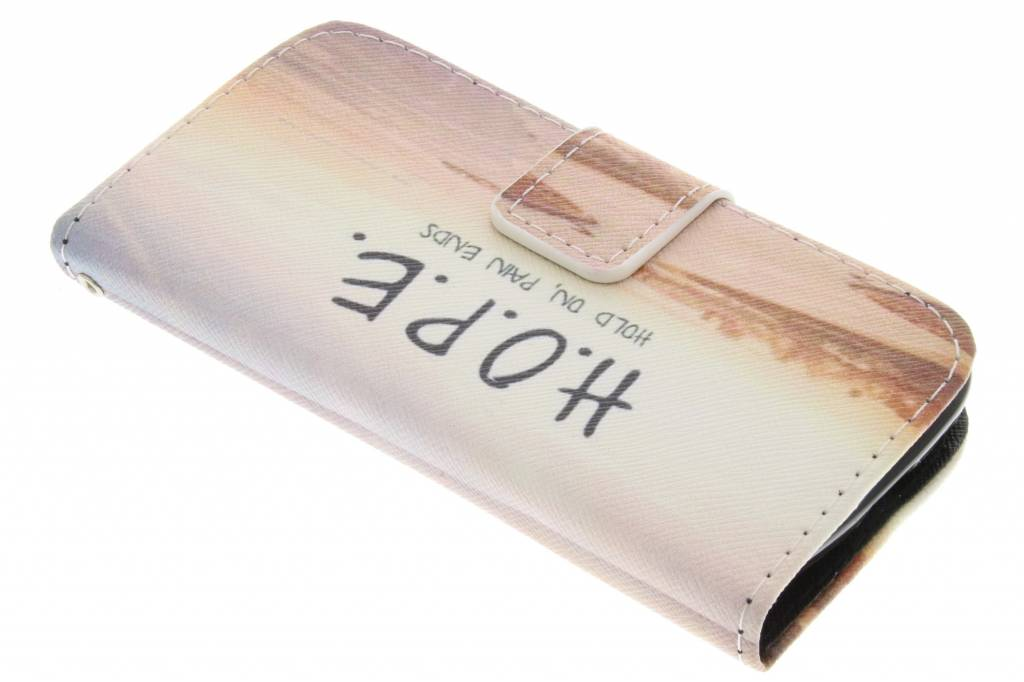 Hope design TPU booktype hoes voor de Samsung Galaxy S4 Mini