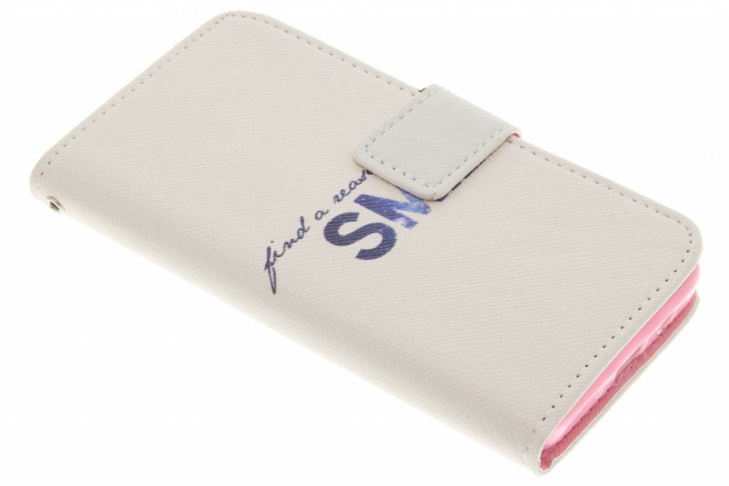 Smile design TPU booktype hoes voor de Samsung Galaxy A3