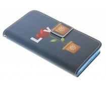 Design TPU booktype hoes Samsung Galaxy A3