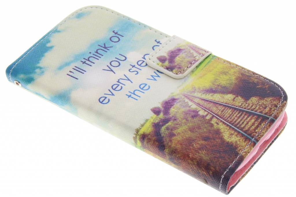 Think of you design TPU booktype hoes voor de Samsung Galaxy S3 / Neo