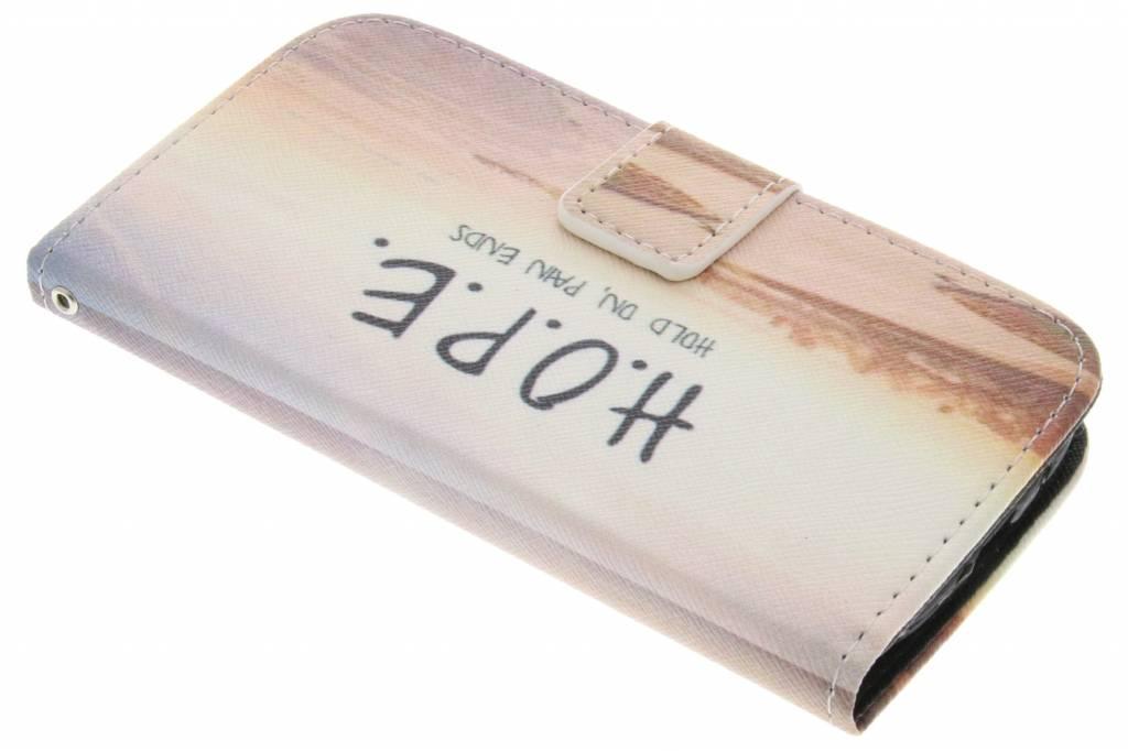 Hope design TPU booktype hoes voor de Samsung Galaxy S3 / Neo