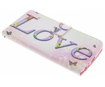 Design TPU booktype hoes LG G4