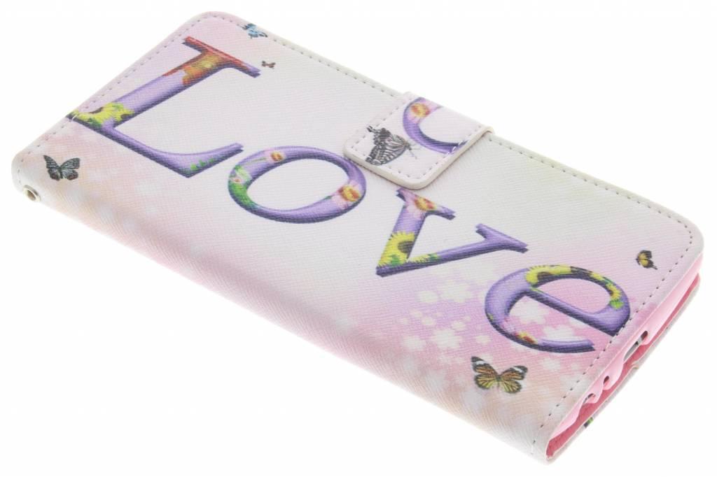 Love design TPU booktype hoes voor de LG G4