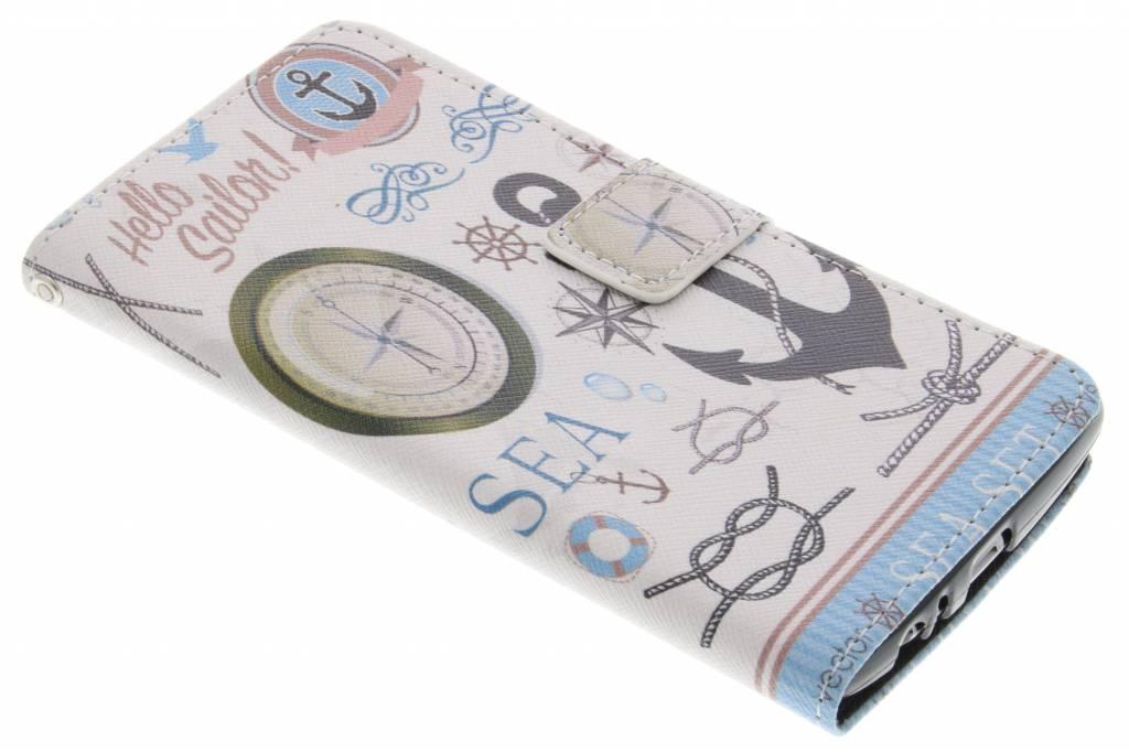 Sailor design TPU booktype hoes voor de LG G4