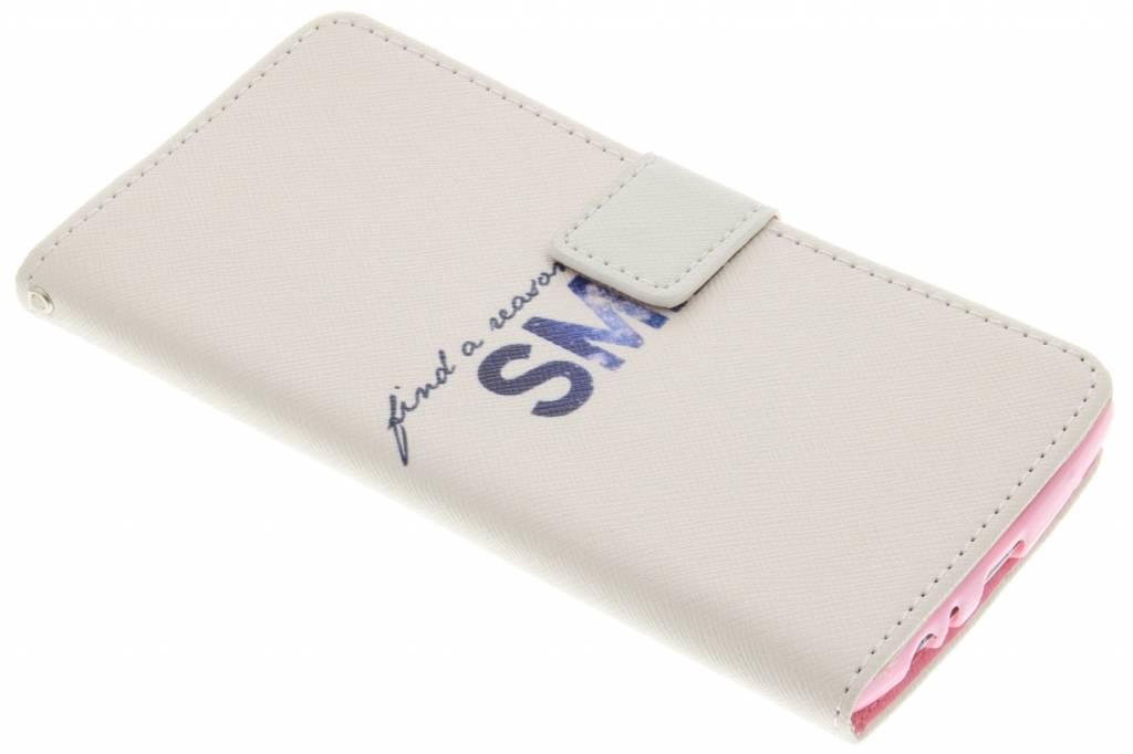 Smile design TPU booktype hoes voor de LG G4