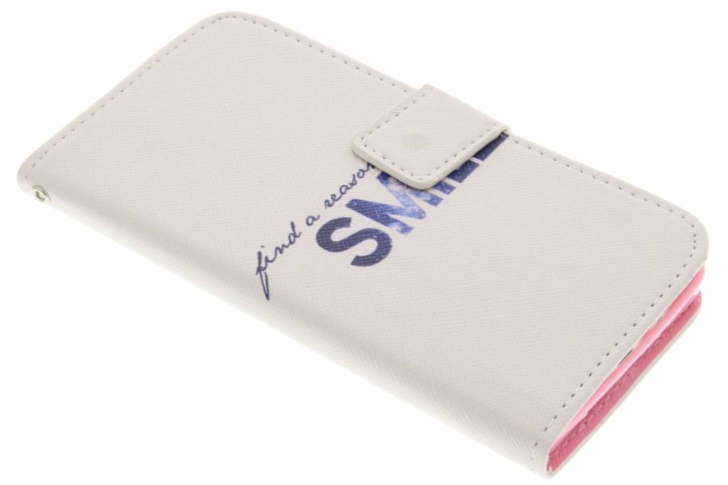 Smile design TPU booktype hoes voor de Samsung Galaxy A5