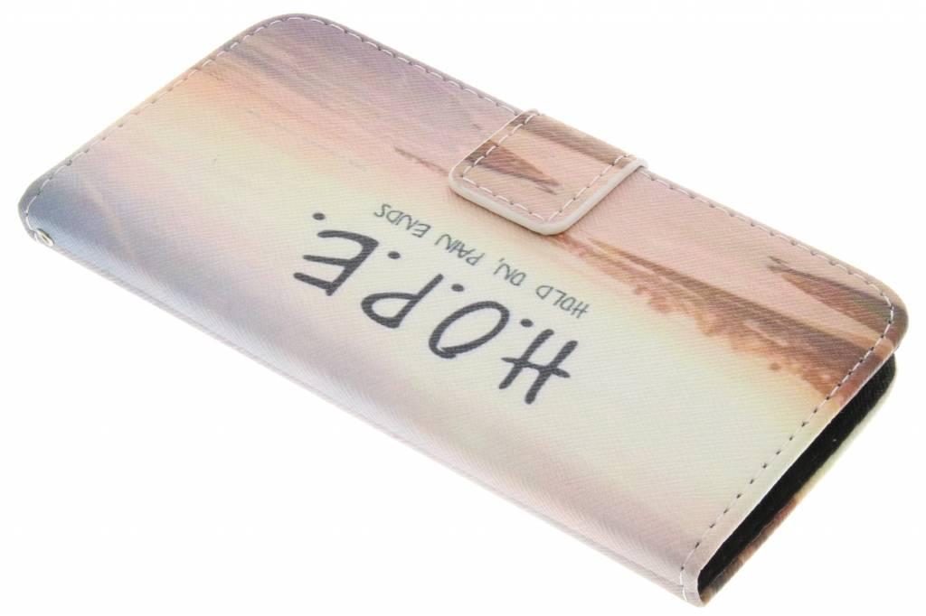 Hope design TPU booktype hoes voor de LG G2