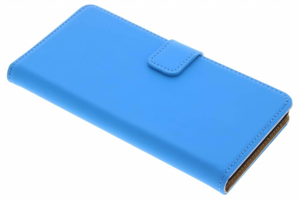Selencia Luxe Book Case voor de Sony Xperia Z5 - Blauw