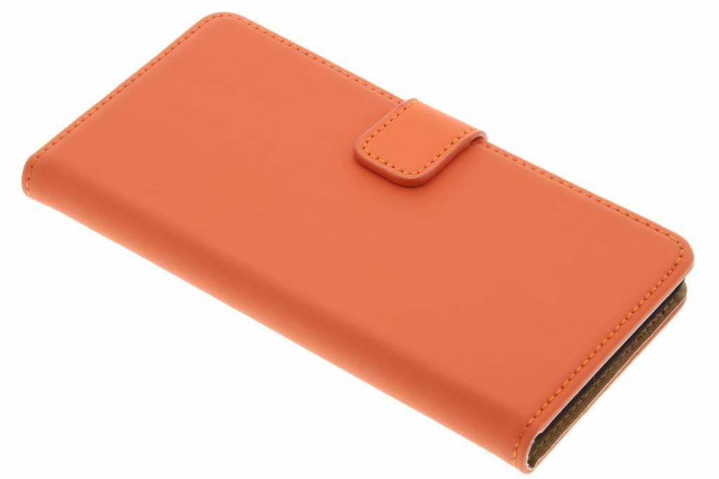 Selencia Luxe Book Case voor de Sony Xperia Z5 - Oranje
