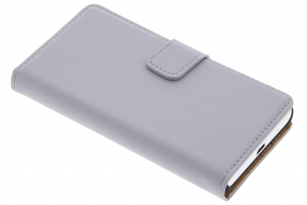 Selencia Luxe Book Case voor de Sony Xperia Z5 Compact - Grijs