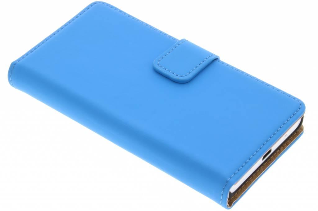 Selencia Luxe Book Case voor de Sony Xperia Z5 Compact - Blauw