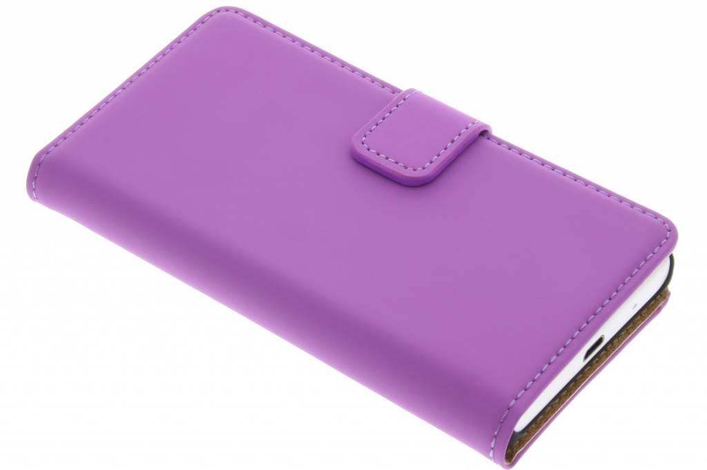 Selencia Luxe Book Case voor de Sony Xperia Z5 Compact - Paars