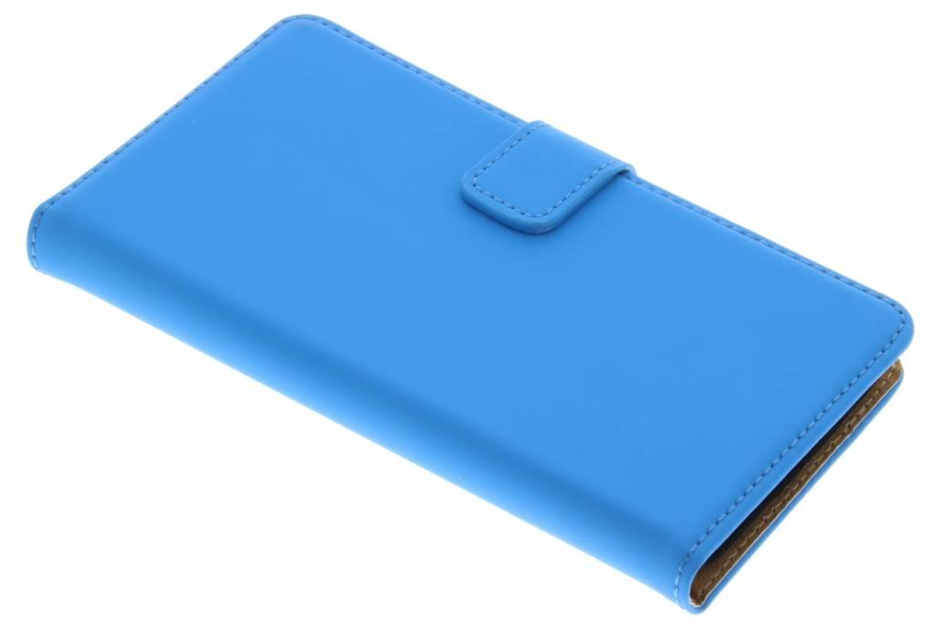 Selencia Luxe Book Case voor de Wiko Lenny - Blauw