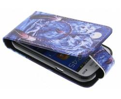 Design TPU flipcase Samsung Galaxy Trend Lite