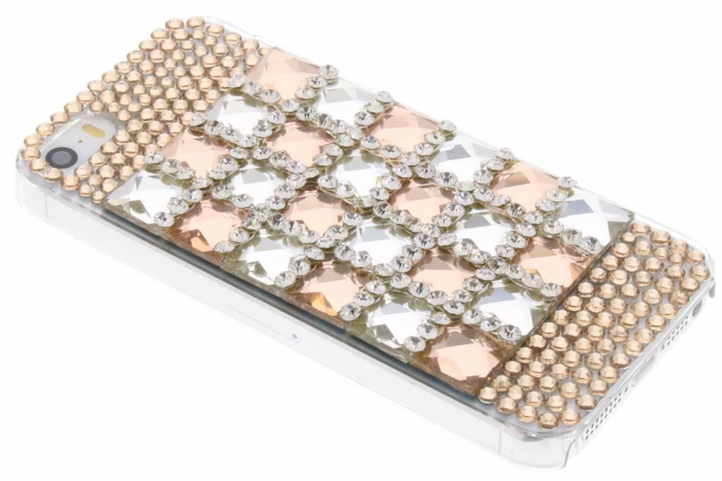Glazen strass hardcase hoesje voor de iPhone 5 / 5s / SE
