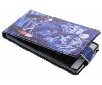 Design TPU flipcase Huawei P8