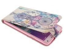 Design TPU flipcase Samsung Galaxy Note 4