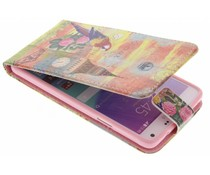 Design TPU flipcase Samsung Galaxy Note 4