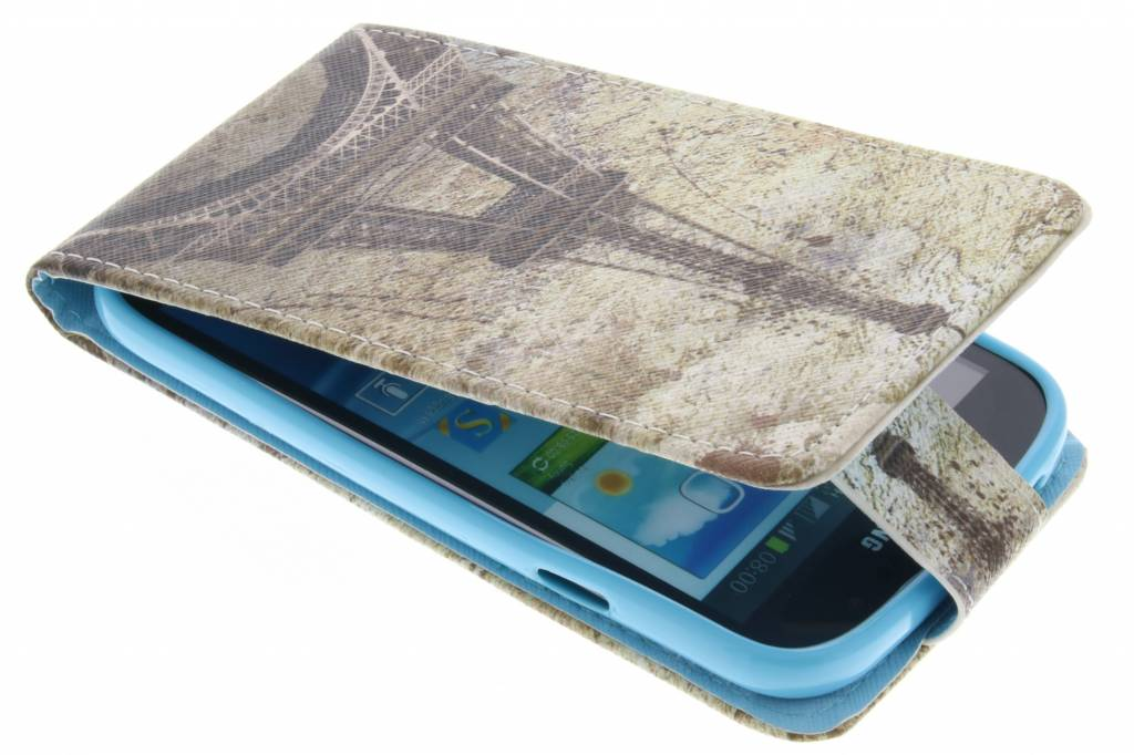 Eiffeltoren design TPU flipcase voor de Samsung Galaxy Grand (Neo)