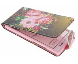 Design TPU flipcase Huawei Ascend P7
