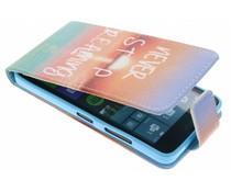 Design TPU flipcase Microsoft Lumia 640