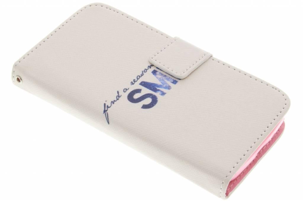 Smile design TPU booktype hoes voor de LG L90