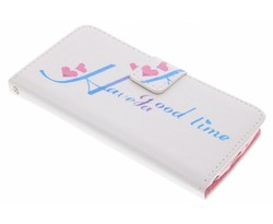 Design TPU booktype hoes LG G3 S
