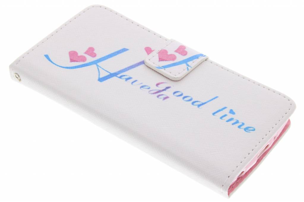 Have a good time design TPU booktype hoes voor de LG G3 S