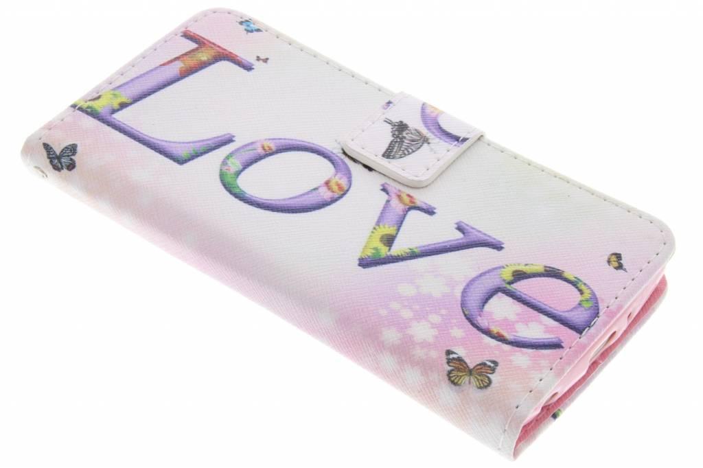 Love design TPU booktype hoes voor de LG G3 S