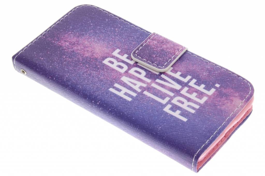 Be happy design TPU booktype hoes voor de Nokia Lumia 630 / 635