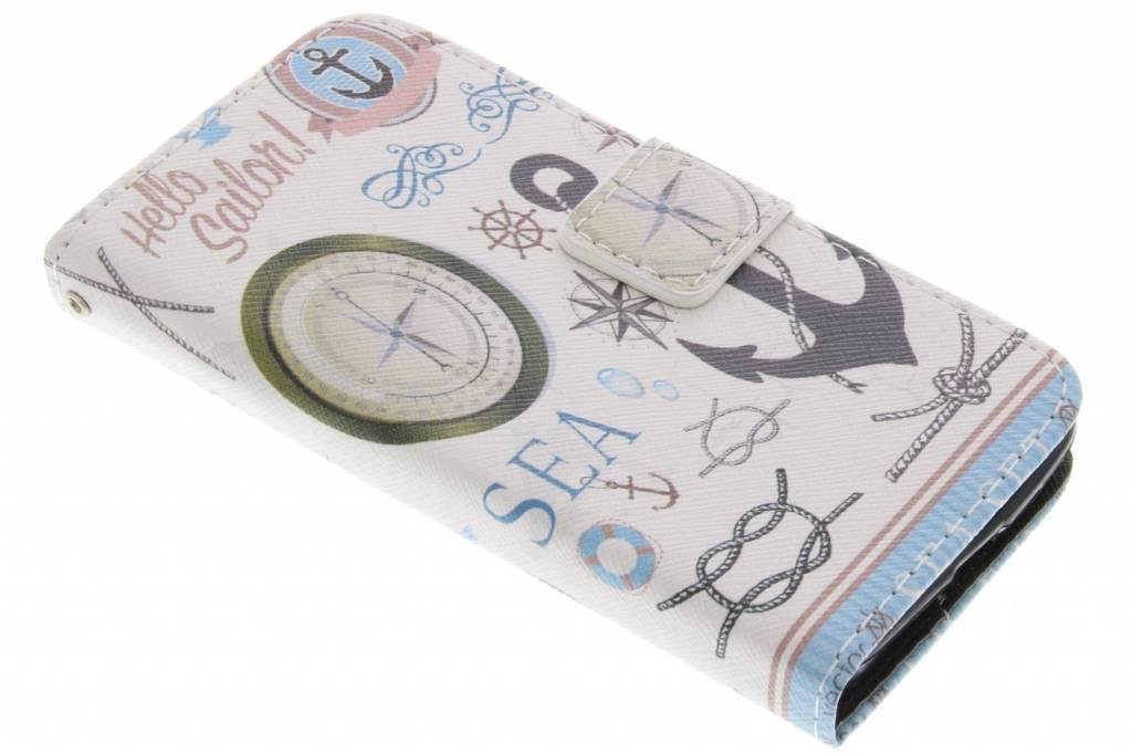 Sailor design TPU booktype hoes voor de Nokia Lumia 630 / 635
