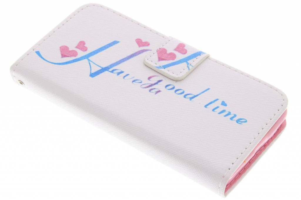 Have a good time design TPU booktype hoes voor de Nokia Lumia 630 / 635