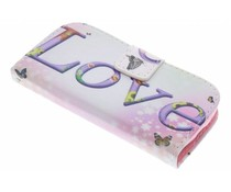 Design TPU booktype hoes Samsung Galaxy Trend Lite