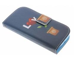 Design TPU booktype hoes Samsung Galaxy Trend Lite